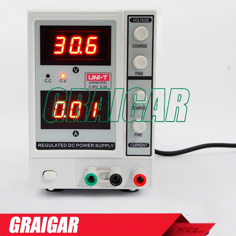 UNI-T UTP3313TFL DC Power Supply Constant Voltage Current Function Current 0~30V 0~3A Power Source dc power supply uni trend utp3704 i ii iii lines 0 32v dc power supply