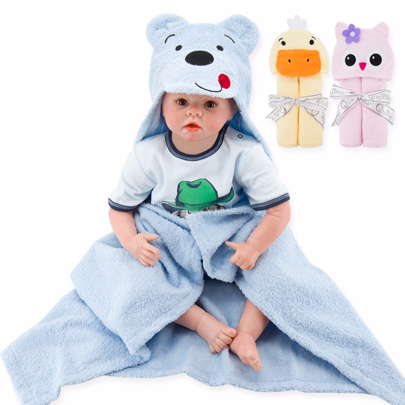 Cute Animal Shape Baby Hooded Bathrobe Bath Towel Baby toallas Neonatal Hold To Be Children Kids Infant Bathing Baby Care (15)