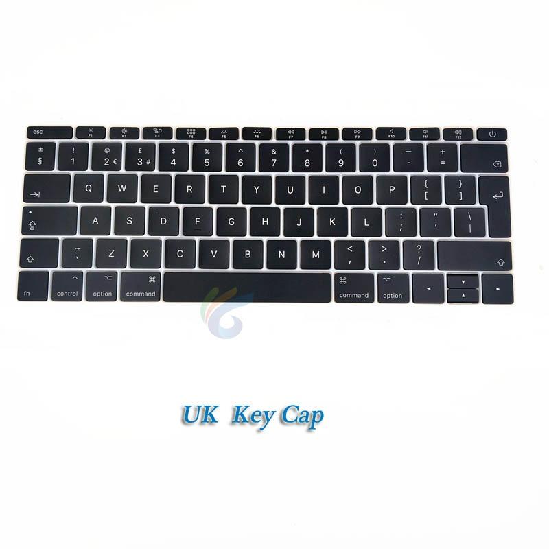 """A1708 клавишная крышка с белым зажимом для Macbook Pro 1"""" retina Key cap US/UK/французский/испанский/немецкий/японский/итальянский/Корейский - Цвет: UK key cap"""