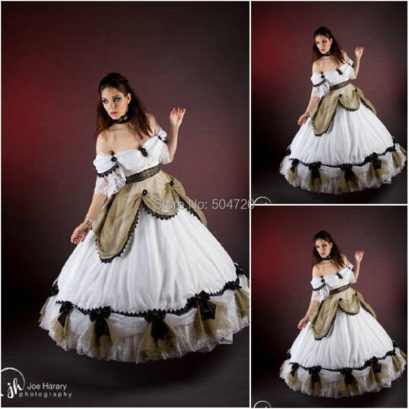 Custom Mader 717 Vintage Costumes 1860s Civil War Southern Belle