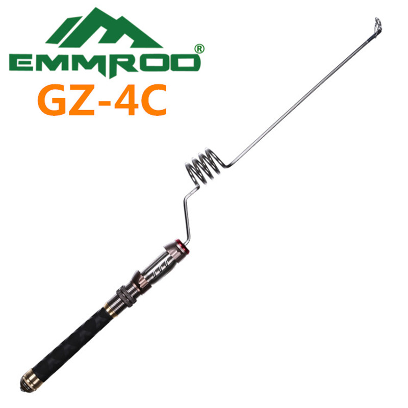 The new 2016 EMMROD elastic fishing rod Ultrashort portable road and rod sea raft pole GZ - 4 c point break pq 4c wd high quality elastic rod cork handle portable rod strong sensitive sea rod fishing gear fast transport