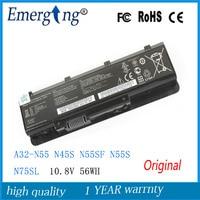 Original novo 56wh bateria do portátil para asus a32-n55 n45 n45sf N55E N55S N75S N45SJ N45E N45F N45SL N55SF N75SF N75SJ N45J