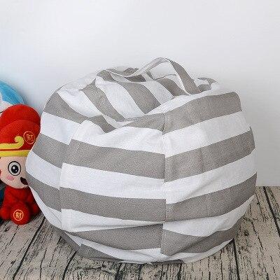 6 цветов чучело для хранения кресло для детей-Пуф Пуфик для хранения игрушек - Цвет: Gray