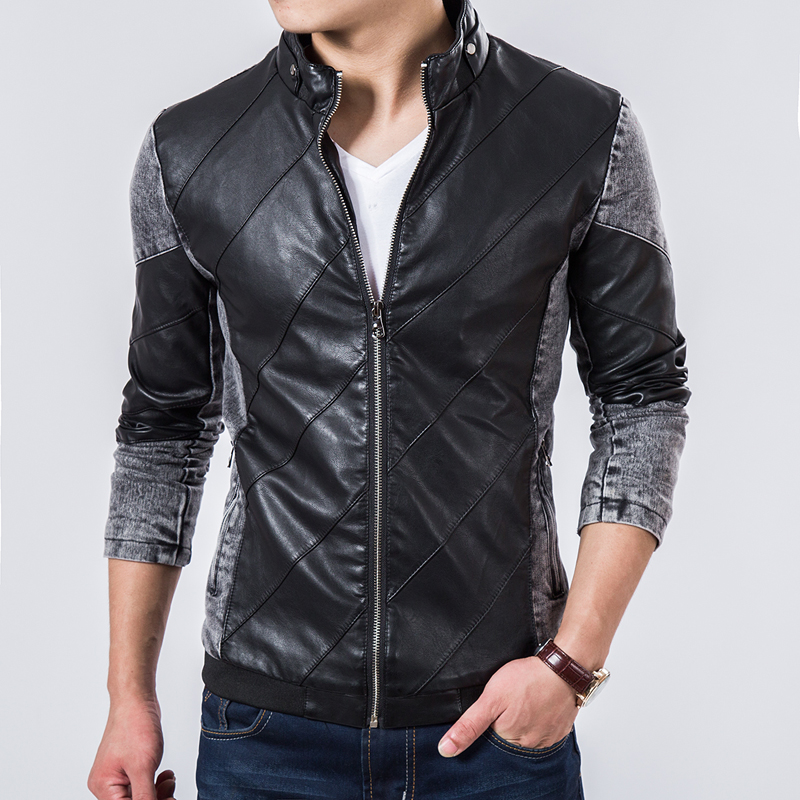 Compare Prices on Leather Jean Jacket Men- Online Shopping/Buy Low