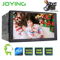 Joying 2GB 32GB Universal New Android 5 1 Car Audio Stereo GPS 3G Wifi Bluetooth Radio