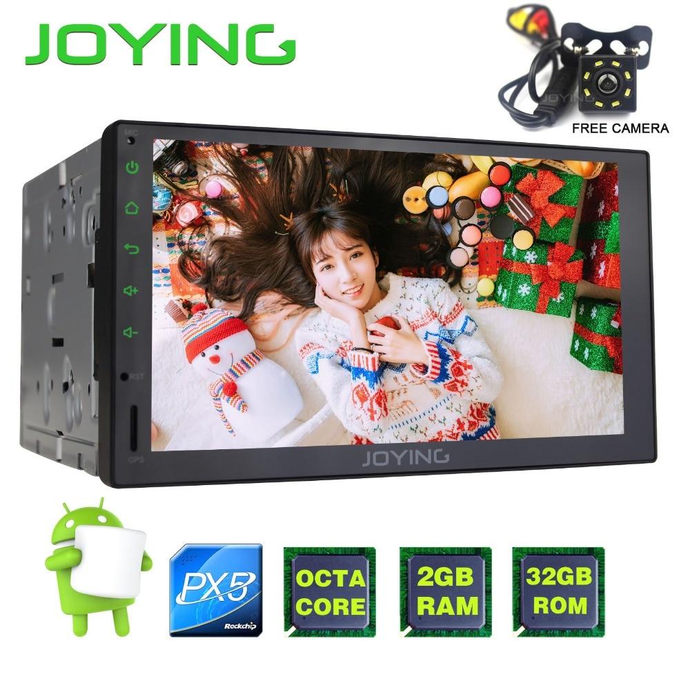 7 Joying PX5 Octa Noyau Bande Core Android Universel De Voiture Radio Audio Stéréo GPS Autoradio Multimédia Lecteur Soutien Carplay Wifi