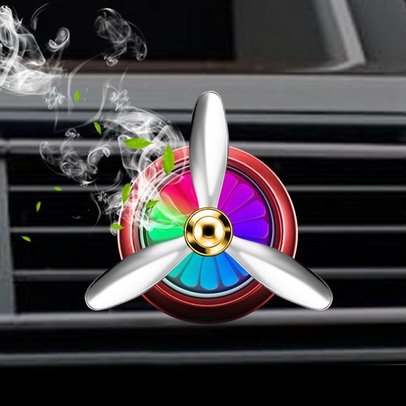 Car perfume Air conditioner Outlet clip Air Freshener decoration For  Hyundai solaris accent i30 ix35 i20 elantra santa fe tucson