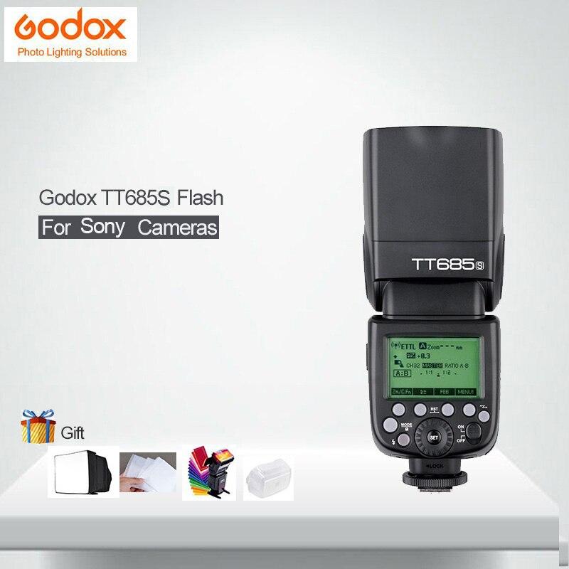 Godox TT685S Camera Flash Thinklite TTL HSS GN60 1/8000S For Sony DSLR Cameras a77II a7RII a7R a58 a99 ILCE6000L цена