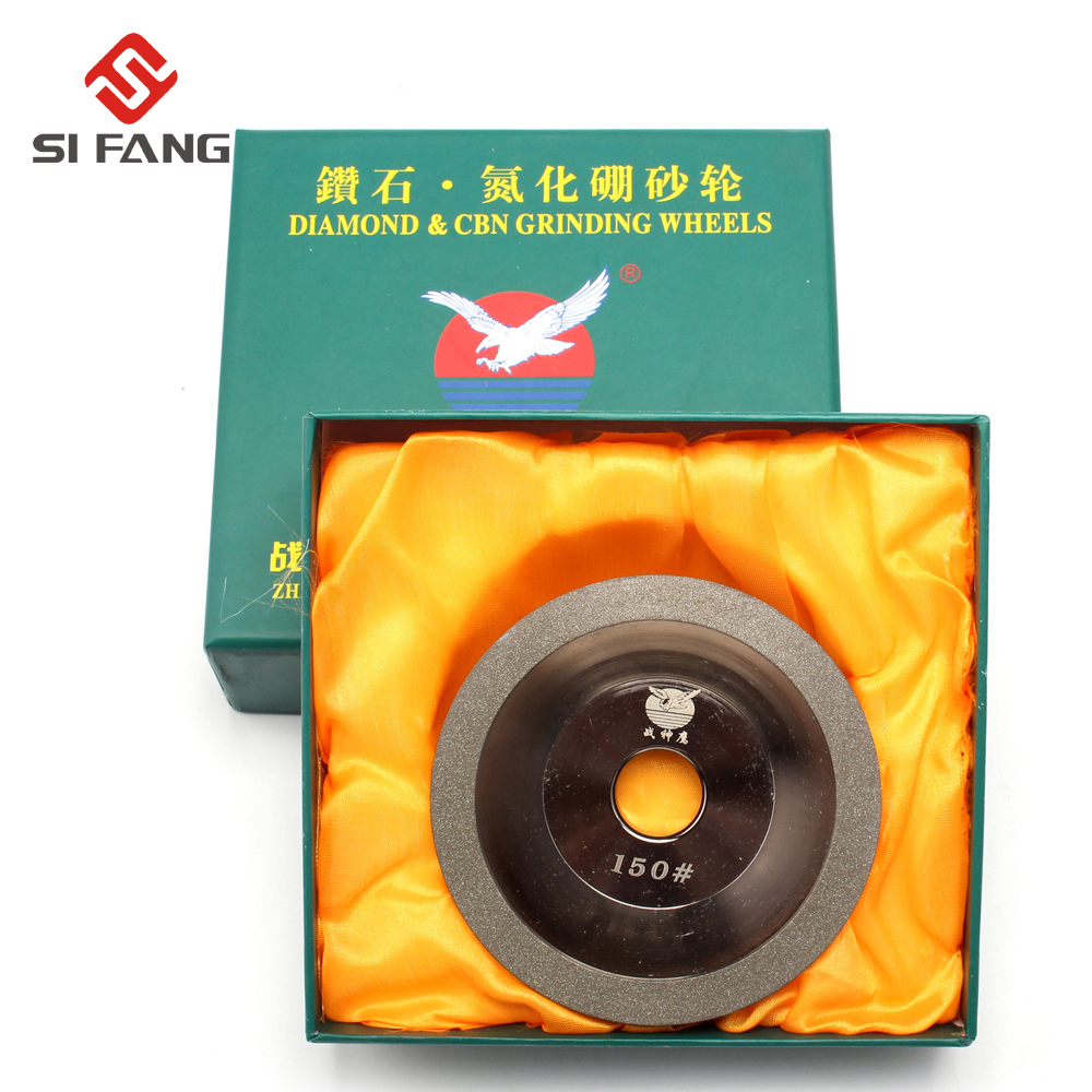 цена на 100mm High quality Electroplating Diamond Grinding Wheel Cup grinding wheel for Sharpener Grinder Accessories 100/200/300 Grit