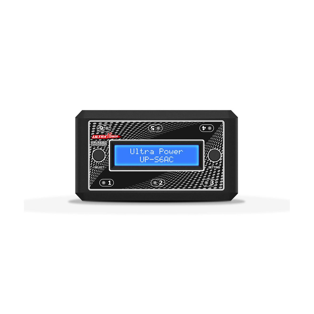 Emax Ultra Power UP S6AC 6x4 35W 1S LiPO LiHV Battery Charger Support Micro MX mCPX