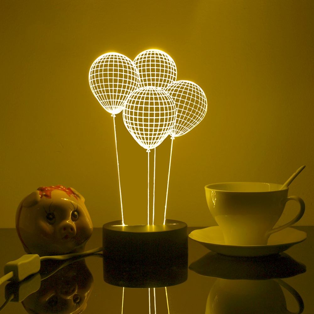 free shipping balloon d lighting table lamp for bedroom  - free shipping balloon d lighting table lamp for bedroom decoration acrylictable lamps abajur bedside lamps kids creative giftin table lamps fromlights