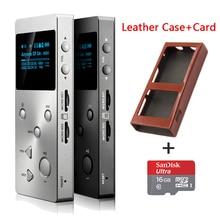 XDUOO lossless X3 Profesional soporte DSD hifi reproductor de música digital mp3/APE/FLAC/WAVWMA/OGG/MP3 ranura SD dual + (Tarjeta de 32G TF + Caja)