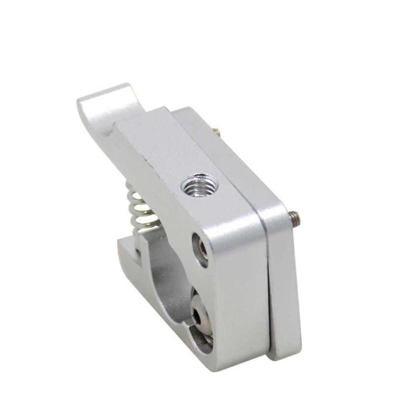 Kee pang mk10 extrusora direita esquerda mão braço remoto extrusão de alumínio direto para 1.75mm filamento metal bowden impressora 3d parte