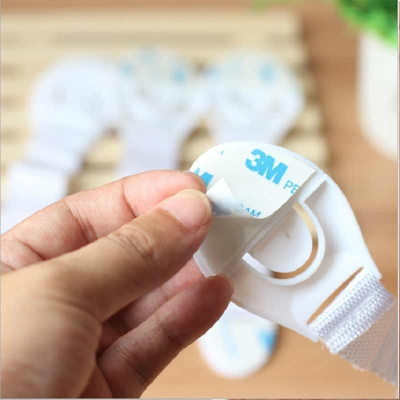2/5 шт Детские замки безопасности пластиковый ящик Дверь Шкаф, буфет, ящик замки защита от детей Малыш обеспечение безопасности продукт