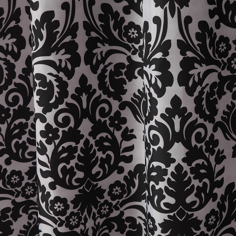 UFRIDAY Black and White Baroque Waterproof Shower Curtain Thicken Bathroom Curtains Home Decor Bath Curtain for the Bathroom New