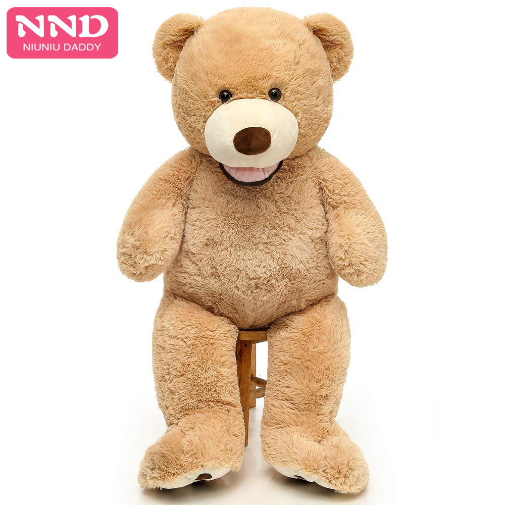 Soft Teddy Bear Brown With Ribbon 20cm Not Suitable For Children Under 3 Years