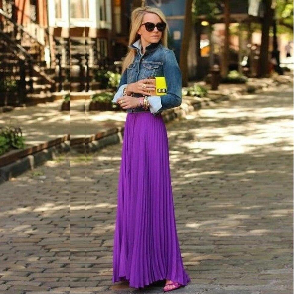 Popular Purple Chiffon Skirt-Buy Cheap Purple Chiffon Skirt lots ...