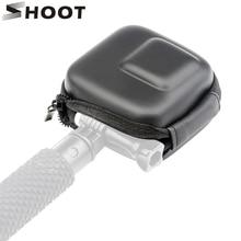 SCHIEßEN Mini EVA Lagerung Box Fall für GoPro Hero 8 7 6 5 Schwarz Silber Weiß Kamera Schutz Tasche für go Pro Hero 7 6 5 Zubehör