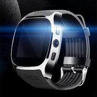 Новый смарт часы Bluetooth камеру телефона может быть Card Reader мобильный телефон Эндрюс IOS QQ спортивные шаг Браслет smartwatch шагомер
