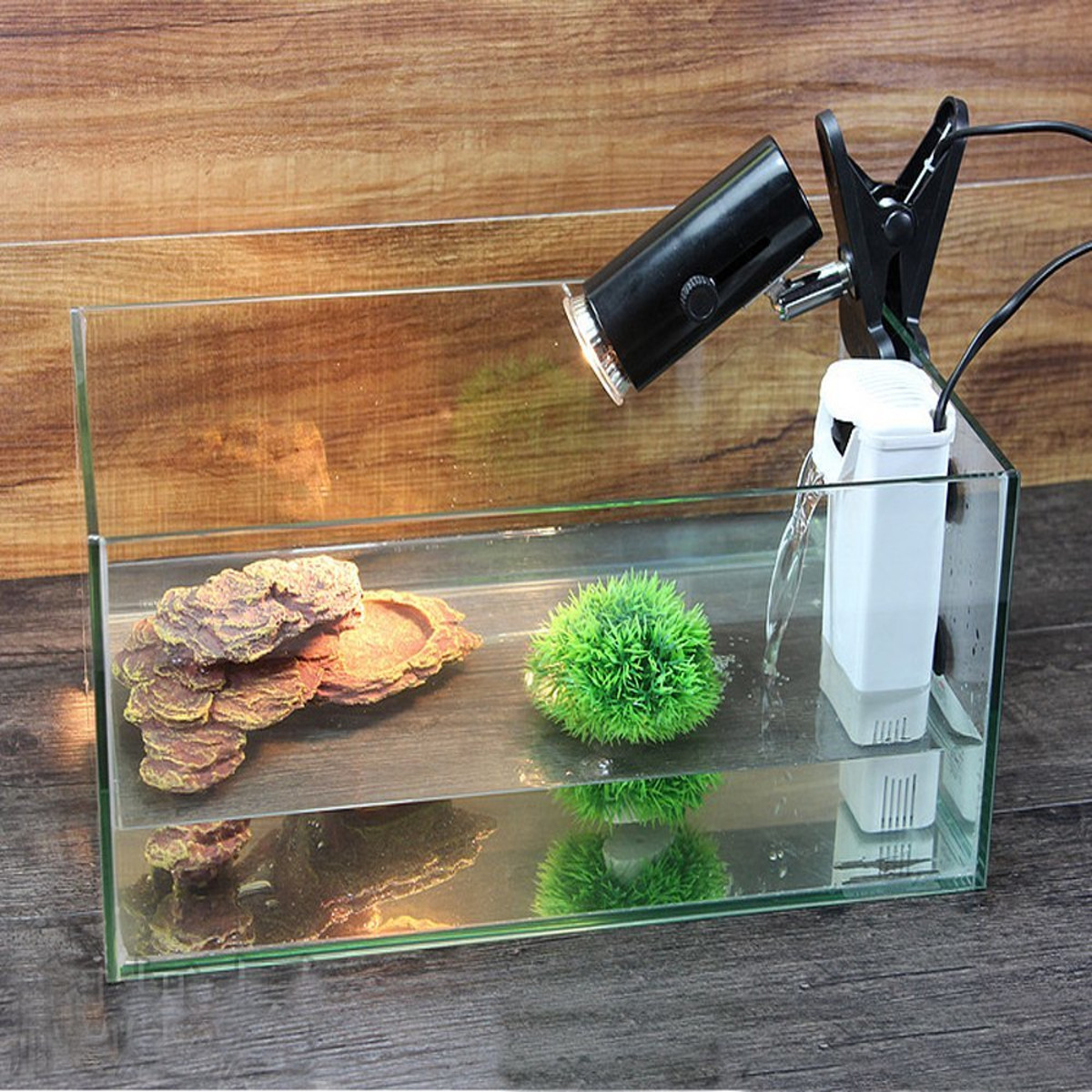 220V 3W Aquarium Internal Filter Water Pump Turtle Kit Fish Tanks Wall Suction Cup Filter Purifier Aquarium Terrarium Filter