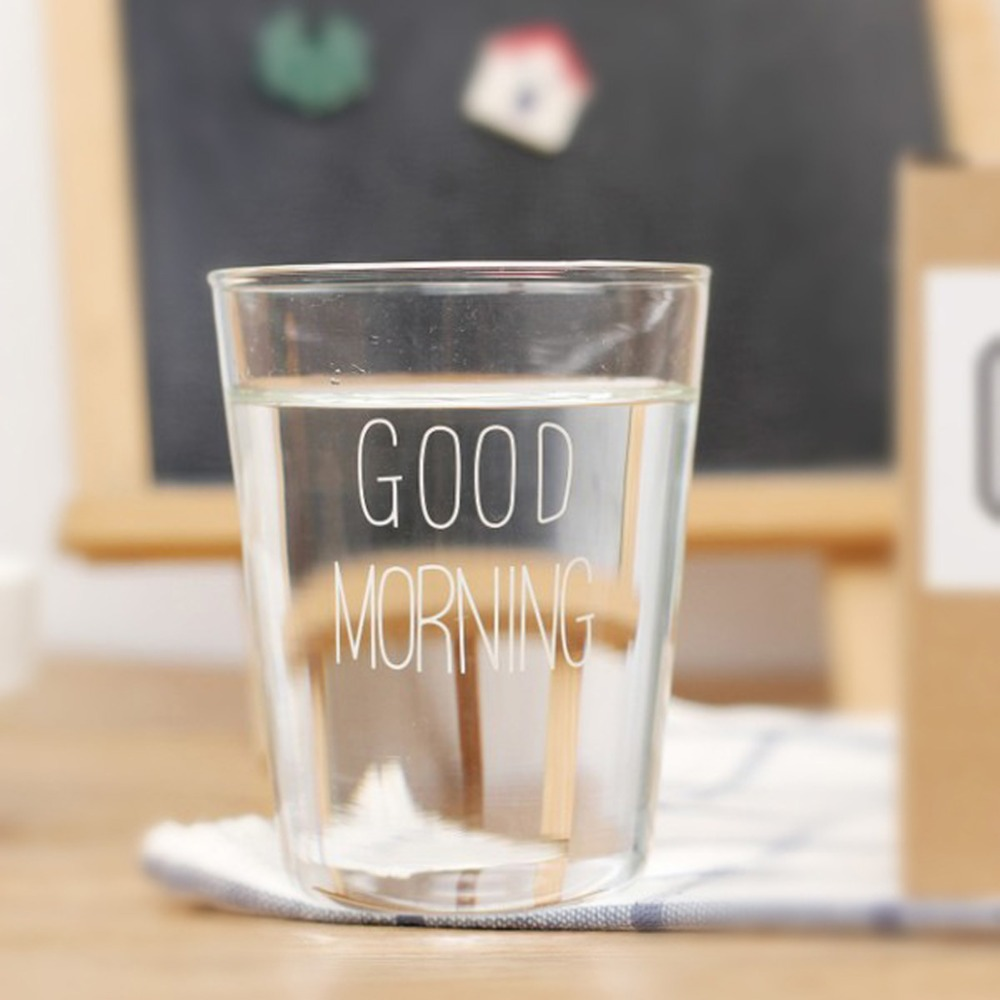 (5 шт./партия) скандинавском стиле keyama Освещение материал стекло доброе утро серии стекло стакана воды молоко завтрак посуда чашки ...