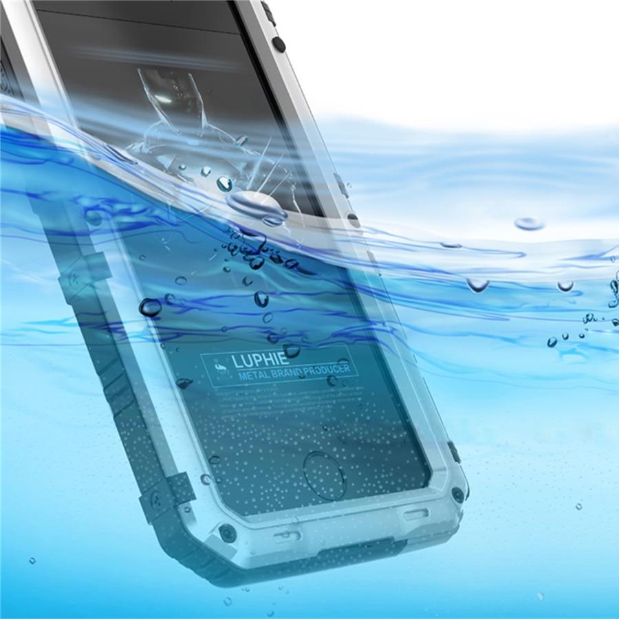 Luphie Warwolf IP68 Case for iphone 8 8plus Անջրանցիկ - Բջջային հեռախոսի պարագաներ և պահեստամասեր - Լուսանկար 5