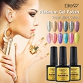 Elite99 Platinum Gel Polish LED UV Lamp Needed Charming Product Collection Bling Shimmer Color UV Nail Polish 10ML