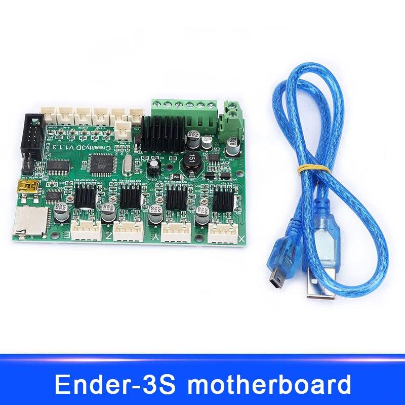 Nouveau Remplacement Carte Mère Carte Mère + LCD Affichage Câbles Pour Ender-3S 3D Imprimante Creality EM88