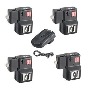 Wansen PT-16NE 16 Canali Wireless Speedlite Flash Trigger con Supporto Dell'ombrello + Ricevitore per Canon Nikon Pentax Olympus