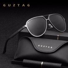 GUZTAG Unisex klasik marka erkek kadın alüminyum güneş gözlüğü polarize UV400 ayna erkek güneş gözlüğü kadınlar için erkekler G9820