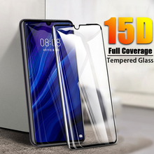 15D Tempered Glass On For Huawei P30 P20 Lite Pro Screen Protector Protective Film For Mate 10 9 20 Lite Pro Full Cover Glass цены