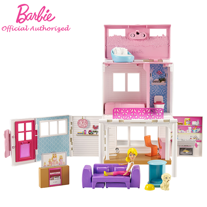 2017 newest barbie series sweet holiday soft vacation big for Dream home season 6