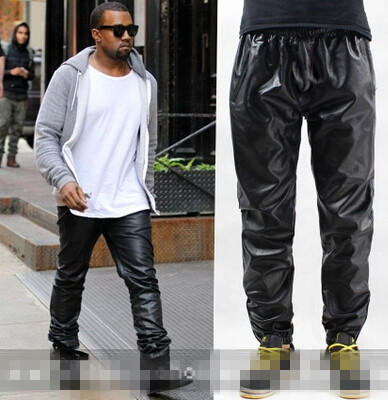 Hot Top Quality New Arrival Fashion 2014 Men S Brand Leather Pants