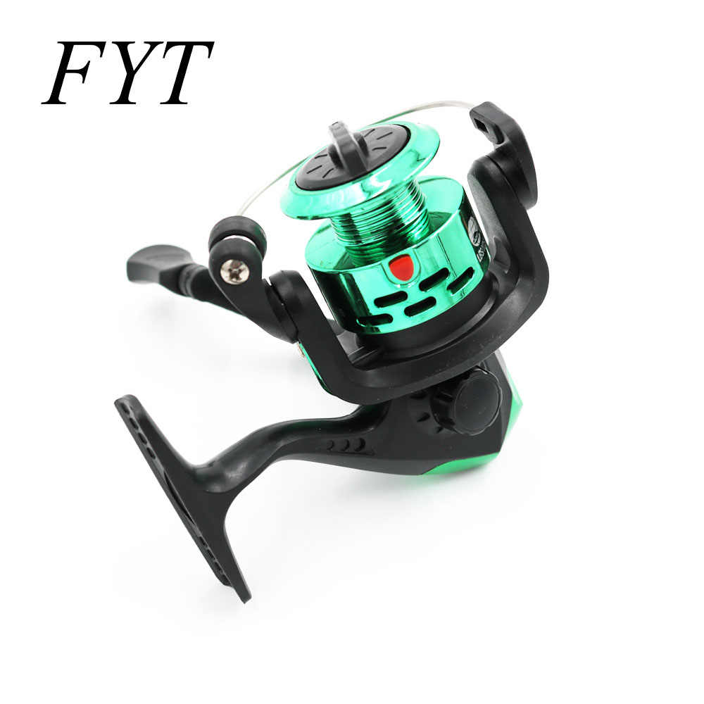 New Product Small Fishing Reel 3BB Series Spinning Reel For Feeder Fishing Wood Handle Fishing Reels Pesca CK200