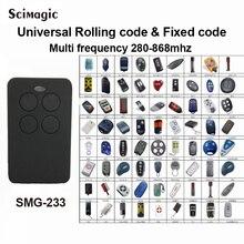 3X Portão Automático controle remoto cópia DOORHAN LIFTMASTER SOMFY FORSA DEA AGRADÁVEL DITEC remoto Universal, transmissor 433 mhz Chave Fob