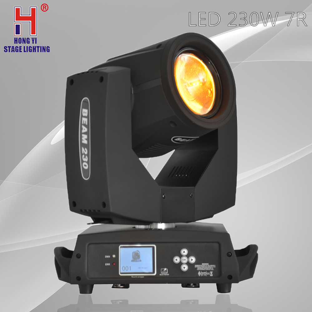 Moving head 230W 7R LED Beam spot light DMX512 Control Professional Stage Lighting Effect for djMoving head 230W 7R LED Beam spot light DMX512 Control Professional Stage Lighting Effect for dj