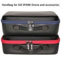 Spark Çantası El Taşıma çantası Su Geçirmez Hardshell Çanta Taşınabilir Seyahat için Uygun DJI Spark Quadcopter Drone