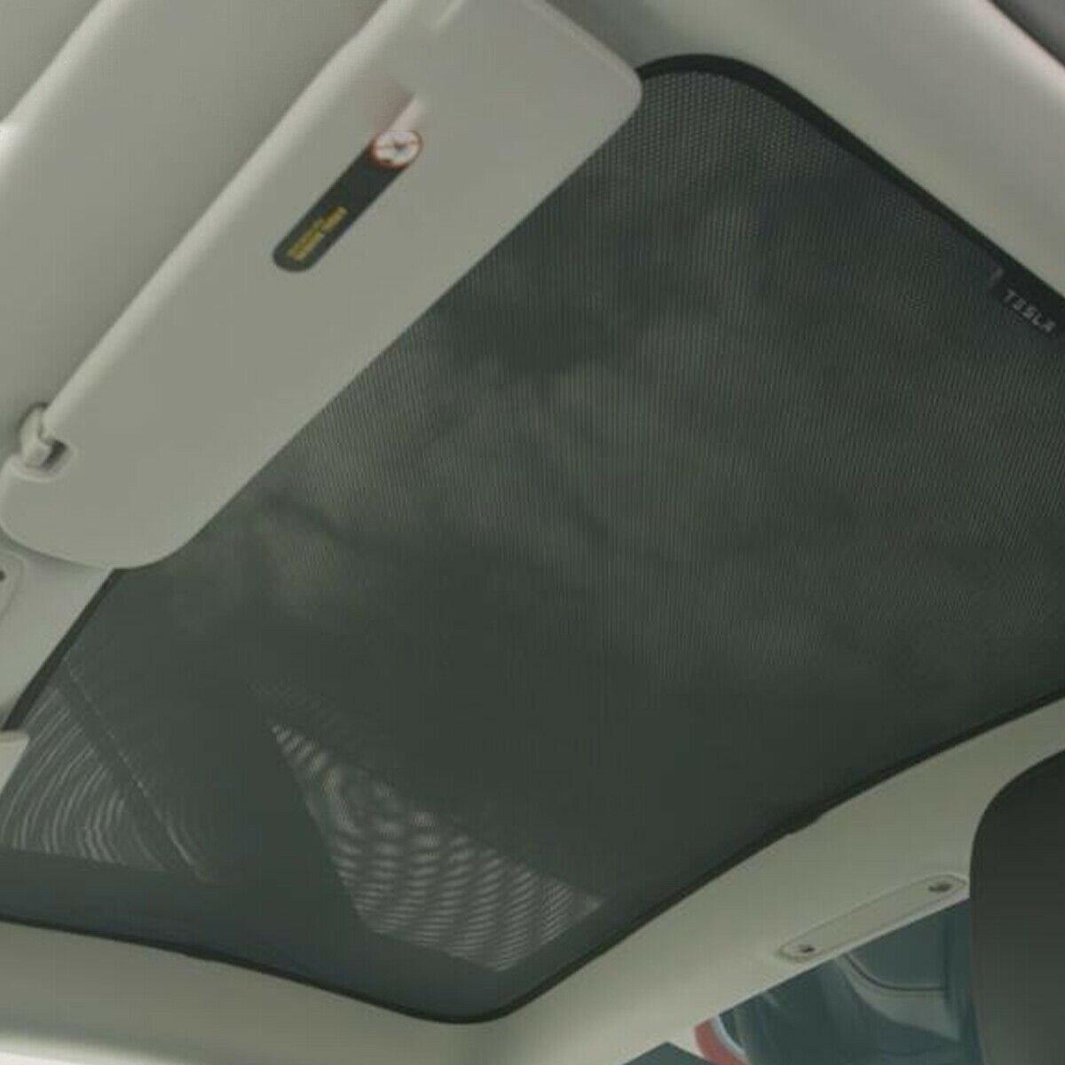 Pour Tesla modèle 3 voiture avant arrière puits de lumière ombrage Net isolation thermique parasol - 2