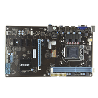 PANSHI H81 BTC New Mining Board Mainboard Board 6 Graphics Card Slot Gigabit Ethernet All Solid