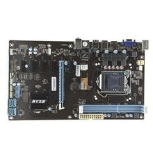 PANSHI H81-BTC new mining board mainboard board 6 graphics card slot Gigabit Ethernet all solid capacitors