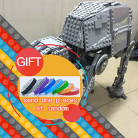 NEW 1137pcs Lepin 05050 Star War Series AT AT The Robot Electric Remote Control Building Blocks