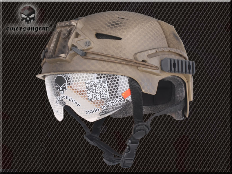 все цены на EMERSON gear goggles military sports safety helmet EXF BUMP Type Pararescue helmet Seals Edition/HLD/DD/MC/AT онлайн