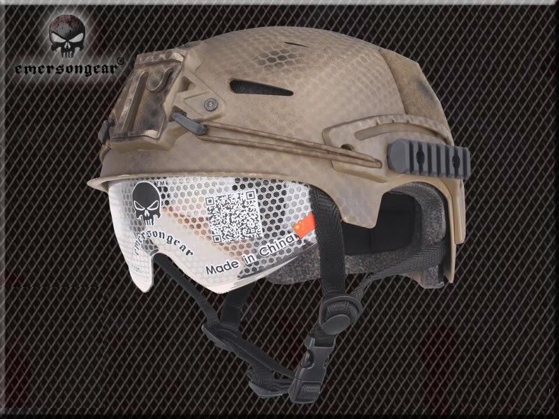 Emerson передач очки военные Спортивная безопасность шлем EXF BUMP Тип Pararescue шлем Уплотнители Edition/HLD/dd/MC/ на