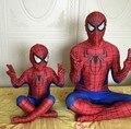 Heigh Qualidade Novo Crianças Homem Aranha Traje Herói Cosplay Halloween Superhero Spiderman Disfraz Infantil Anime Terno Para Crianças