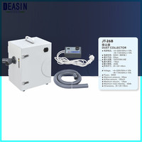 Dental Equipment Lab Laboratory Numerical control double leaf pulley Dust Collector Vacuum Cleaner JT 26B for Dental Laboratory