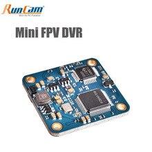 Runcam mini fpv dvr saída de vídeo lossless dc 3.3 5.5 v para vtx para mini fpv rc que compete o zangão quadcopter parte