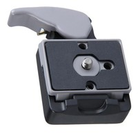 Free Shipping Quick Release Clamp Adapter And Quick Release Fast Loading Plate For Manfrotto 701HDV 503