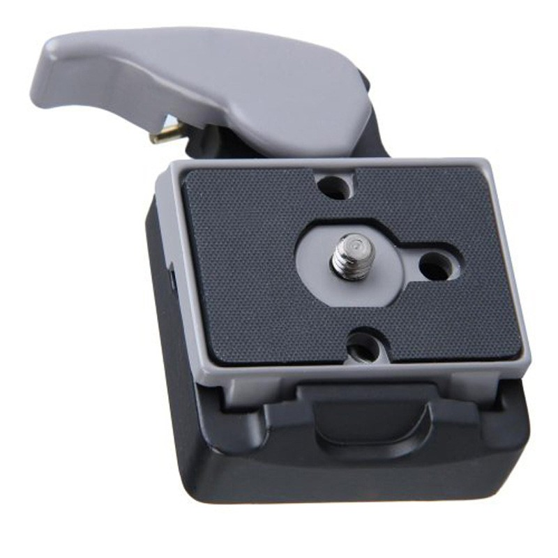 Free Shipping Manbily Camera 323 Quick Release Clamp Adapter Quick Release Plate Compatible for Manfrotto 200PL-14 Compat Plate