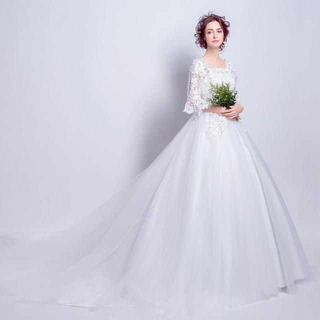 Vestidos blancos estilo princesa