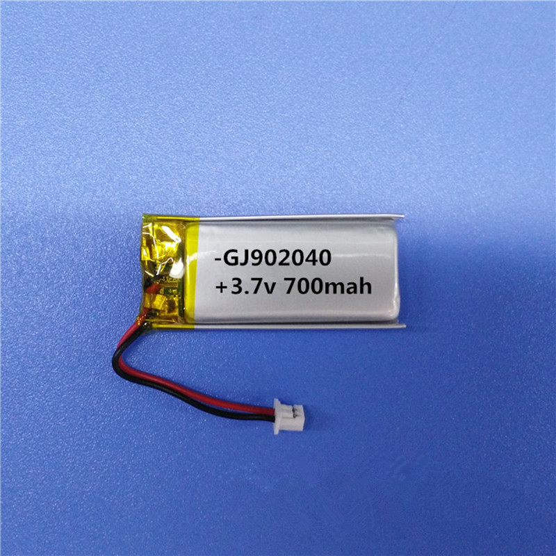 Free shipping by DHL Fedex 100pcs700mAh 3 7V 902040 092040 Lithium polymer rechargeable battery bluetooth speaker batteries in Rechargeable Batteries from Consumer Electronics